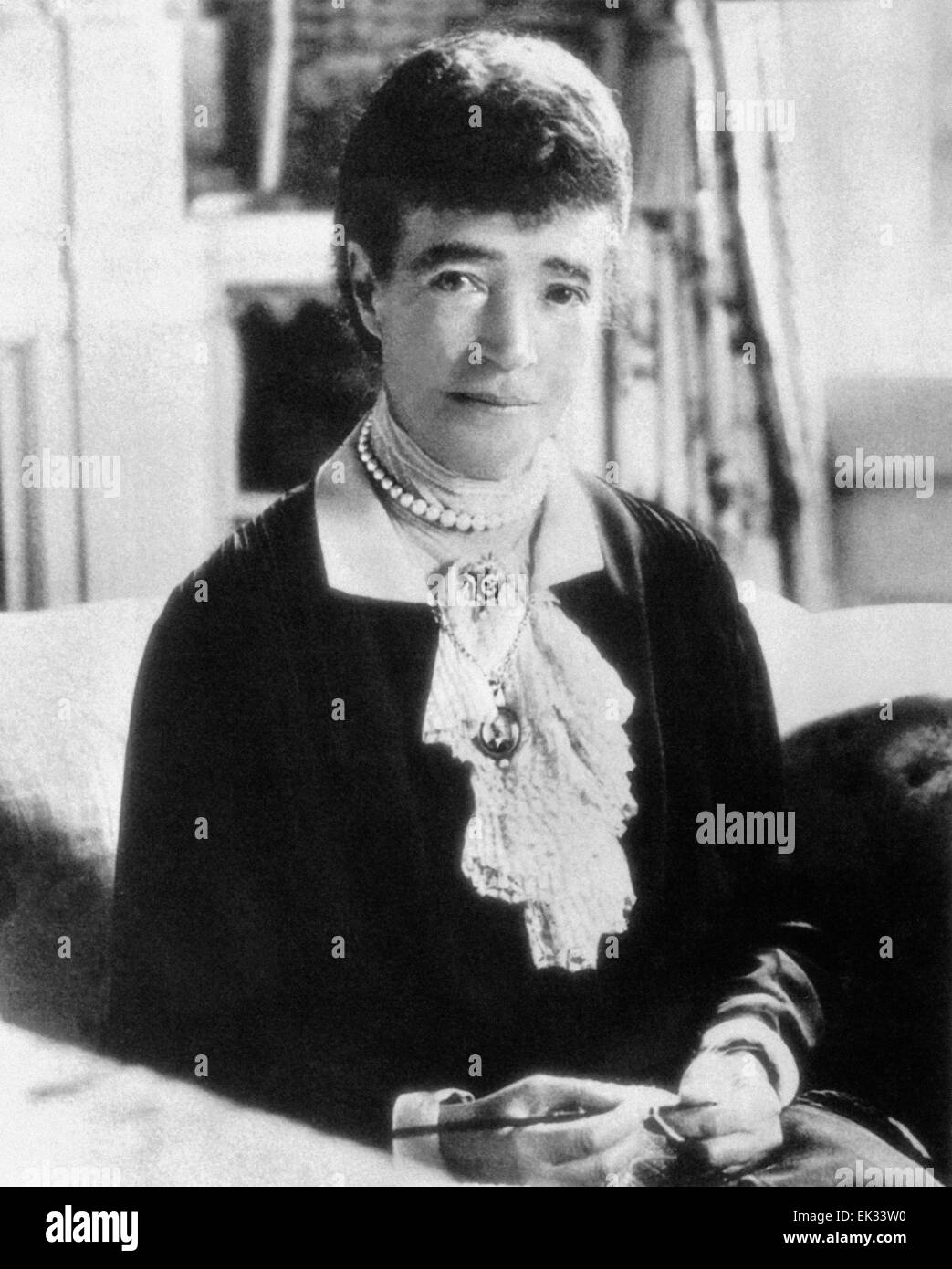 Denmark. Dowager Maria Feodorovna. - Stock Image