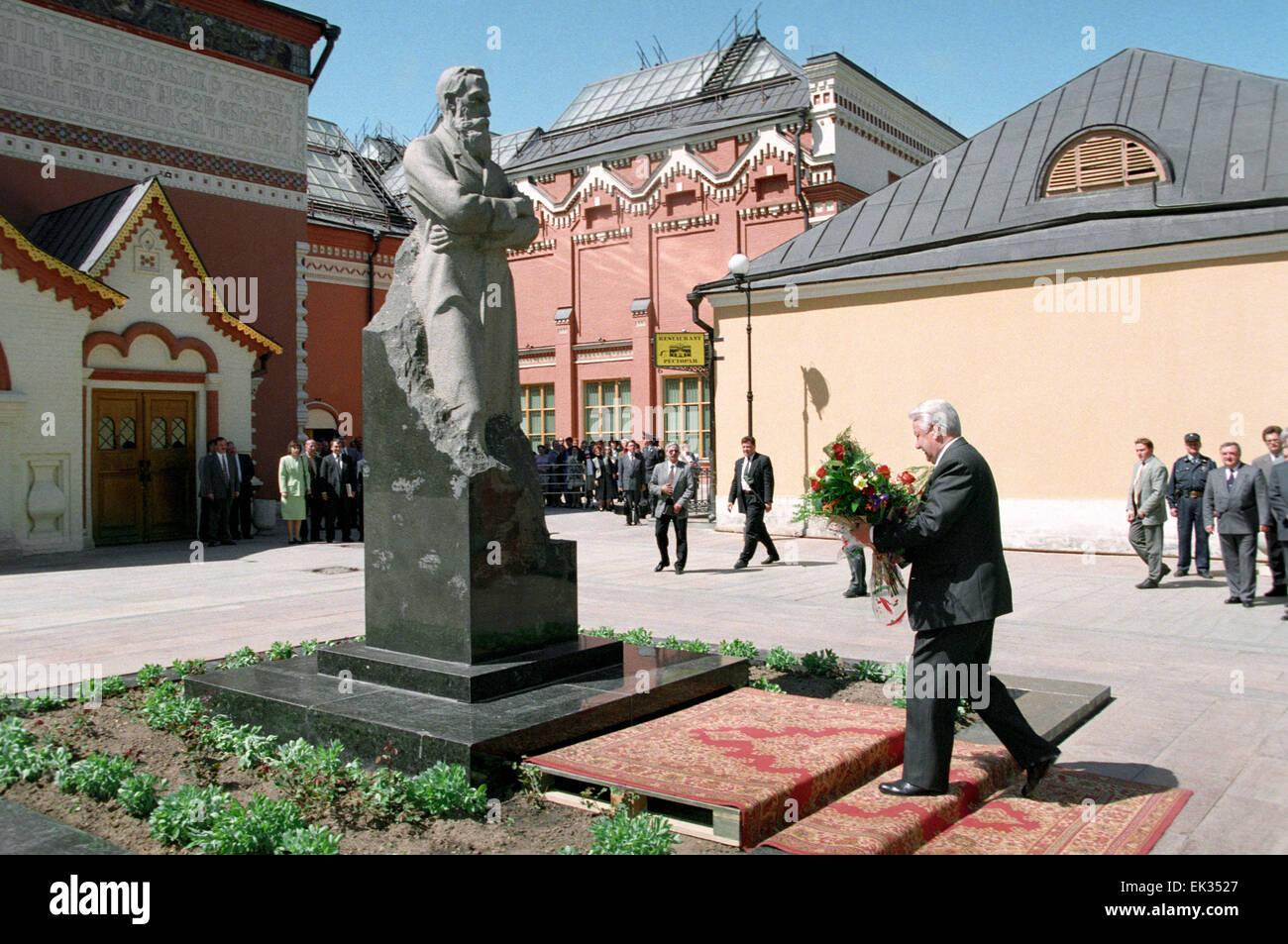 Monument to Boris Yeltsin will be installed in Yekaterinburg 03/25/2010 81