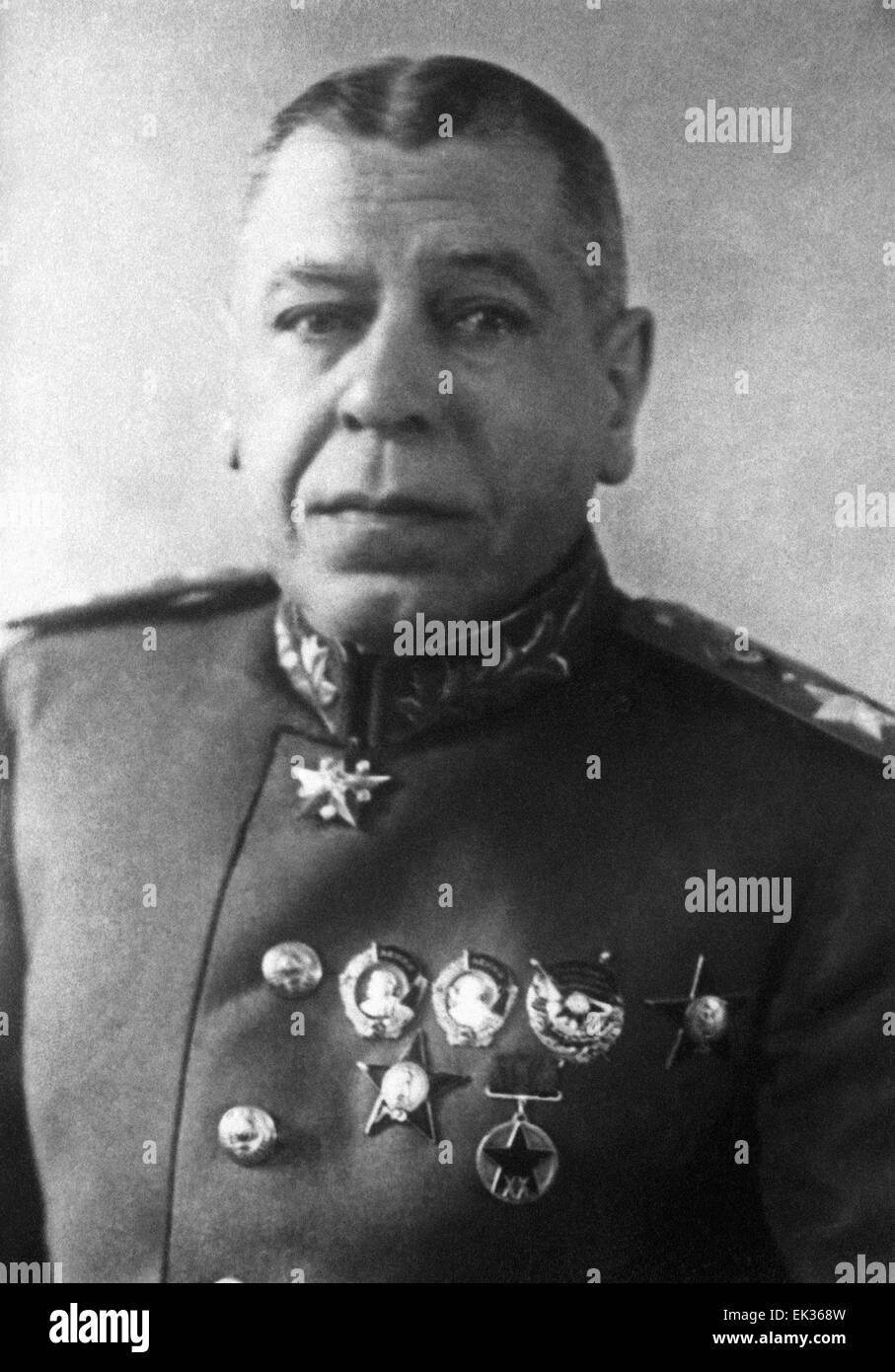 Marshal Shaposhnikov Boris Mikhailovich: biography, awards and interesting facts 32