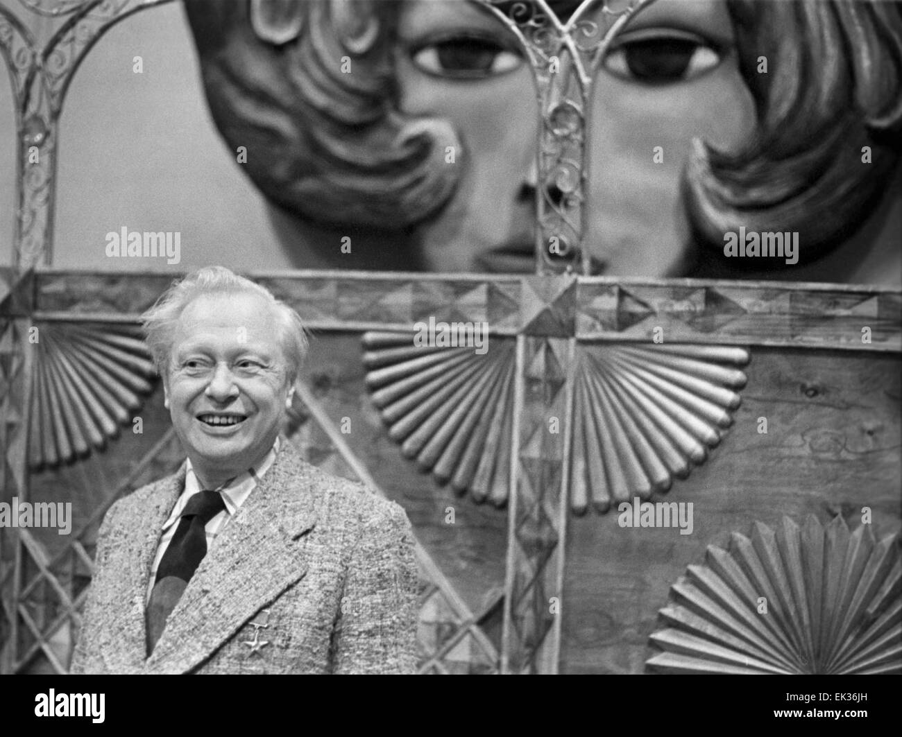 ITAR-TASS: USSR, MOSCOW. Soviet and Russian puppeteer, director of Central Moscow Puppet Theatre Sergey Obraztsov. - Stock Image