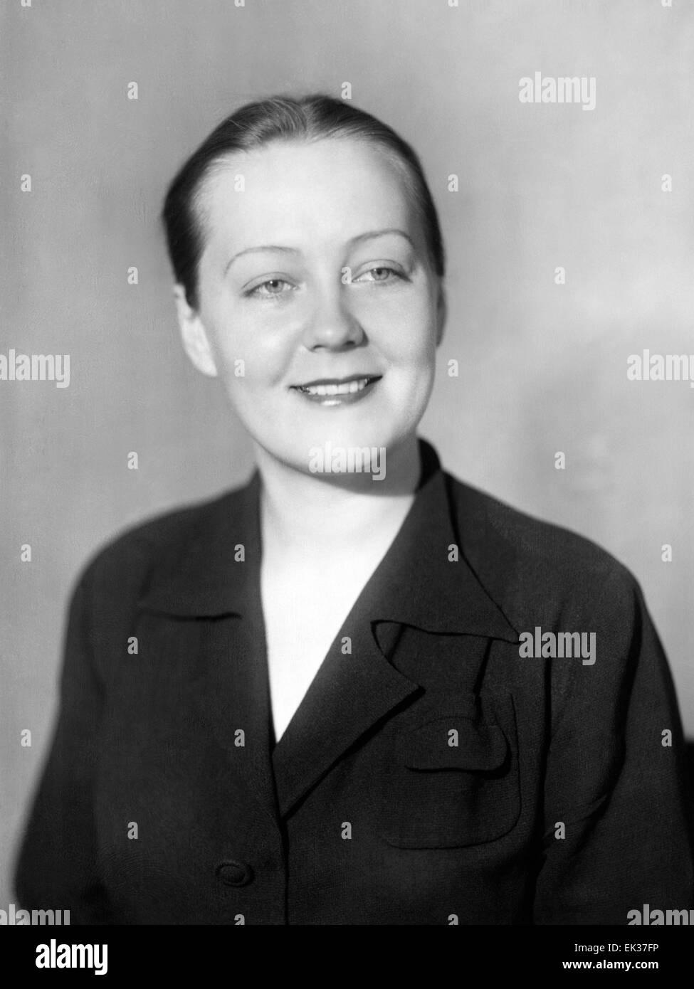 ITAR-TASS: USSR, MOSCOW. Actress Tatiana Zabrodina. - Stock Image