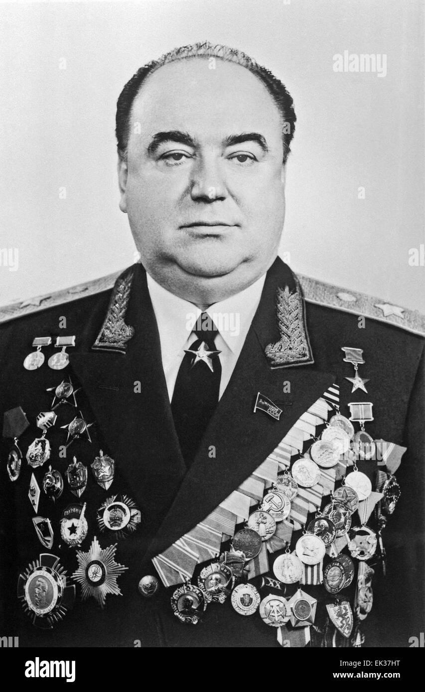 KGB 1st vice-chairman Semyon Tsvigun. - Stock Image