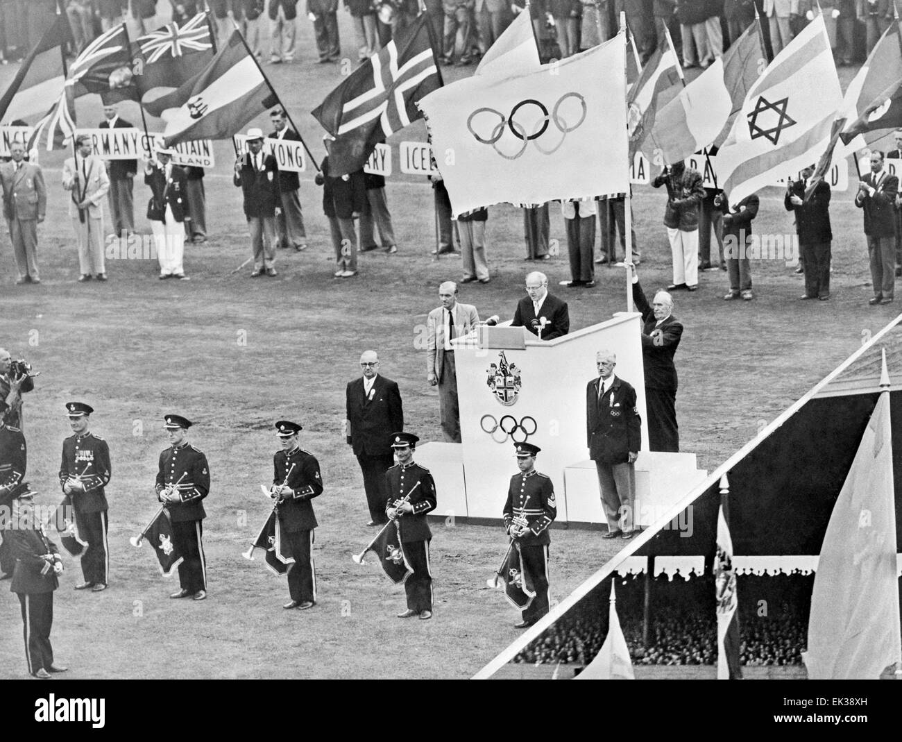 Olympic Games Melbourne 1956 Stock Photos Amp Olympic Games