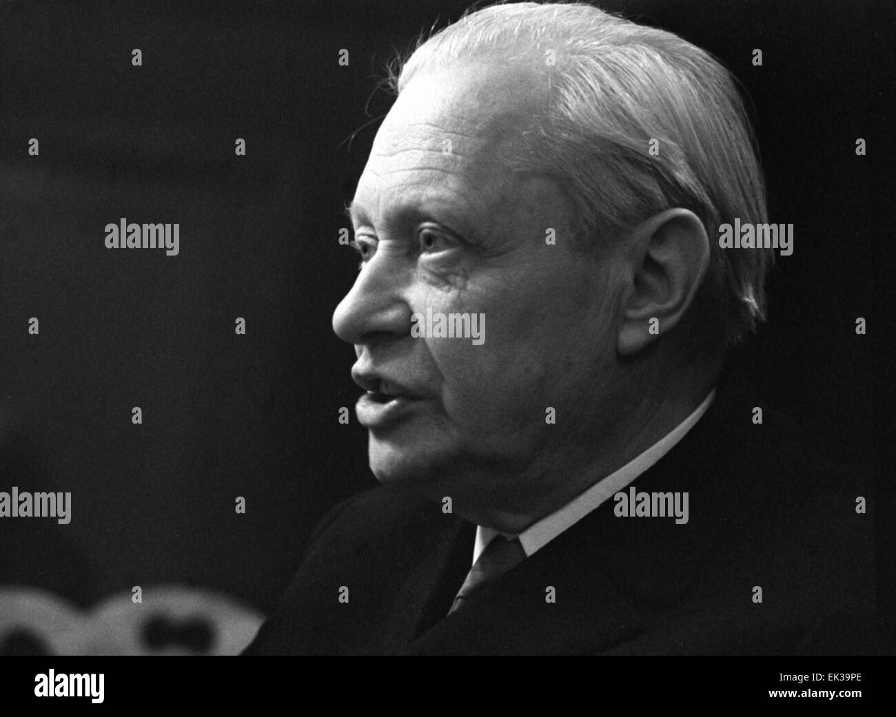 Moscow. Peoples' Artist of the Soviet Union Sergei Obraztsov. - Stock Image