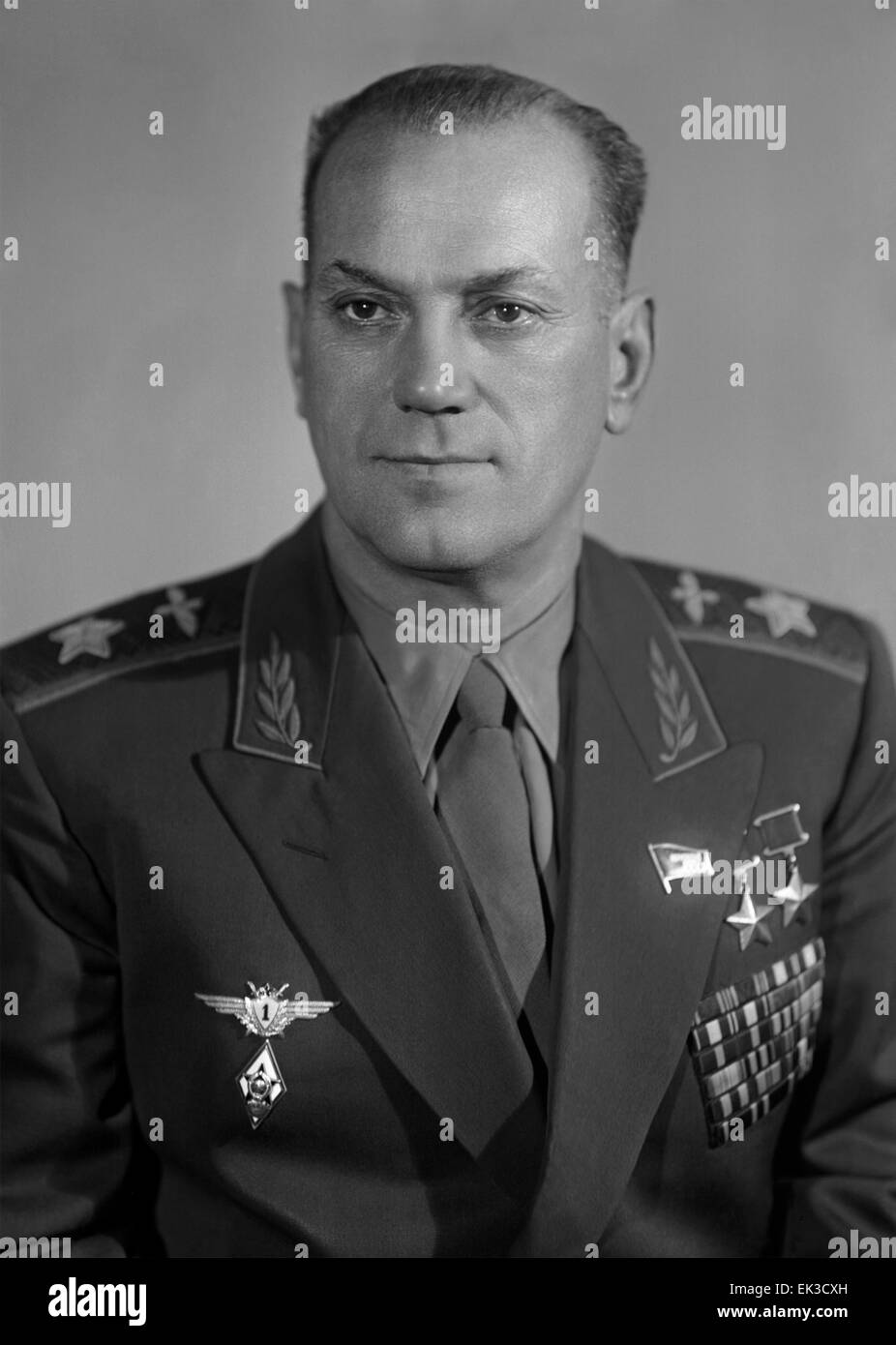 Marshal of Aviation Shaposhnikov Evgeny Ivanovich