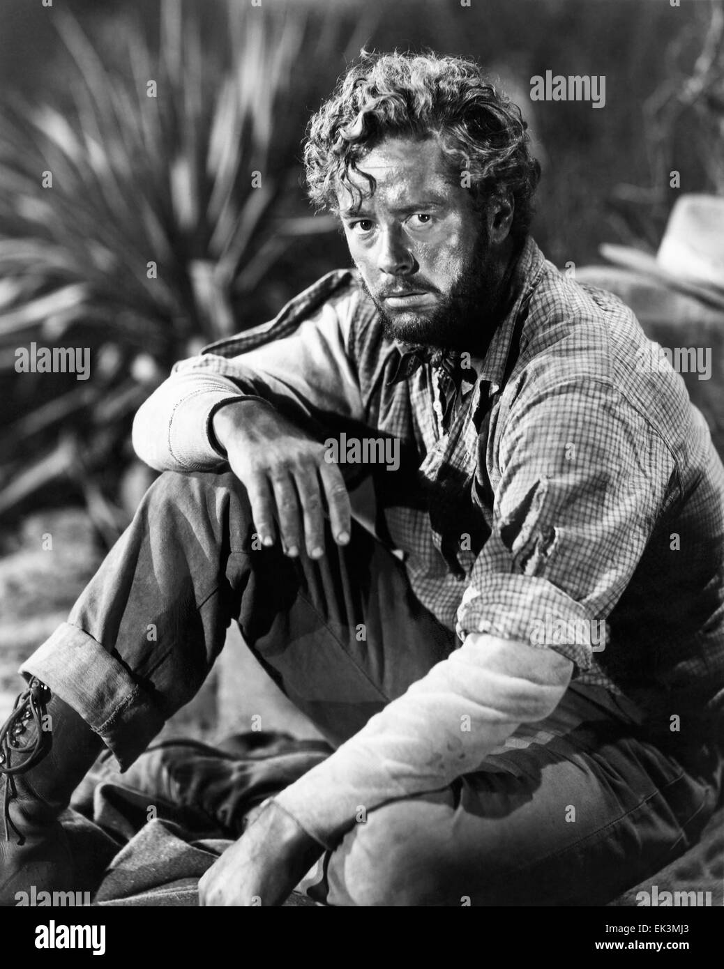 Tim Holt, on-set of the Film 'The Treasure of the Sierra Madre', 1948 - Stock Image