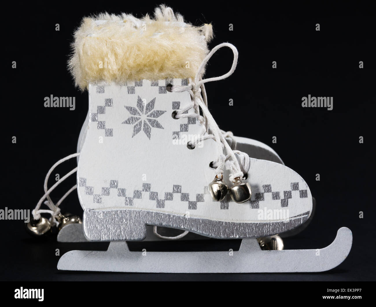 Ice Skate Christmas Ornament Stock Photos & Ice Skate Christmas ...