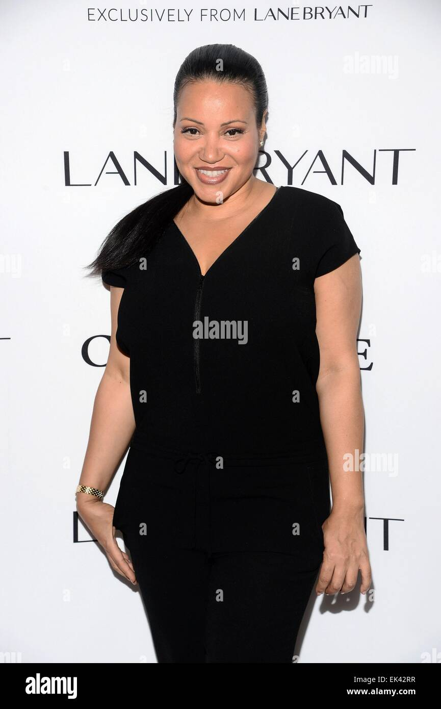 New York, NY, USA. 6th Apr, 2015. Cheryl 'Salt' James at arrivals for Lane Bryant #ImNoAngel Campaign Launch, - Stock Image