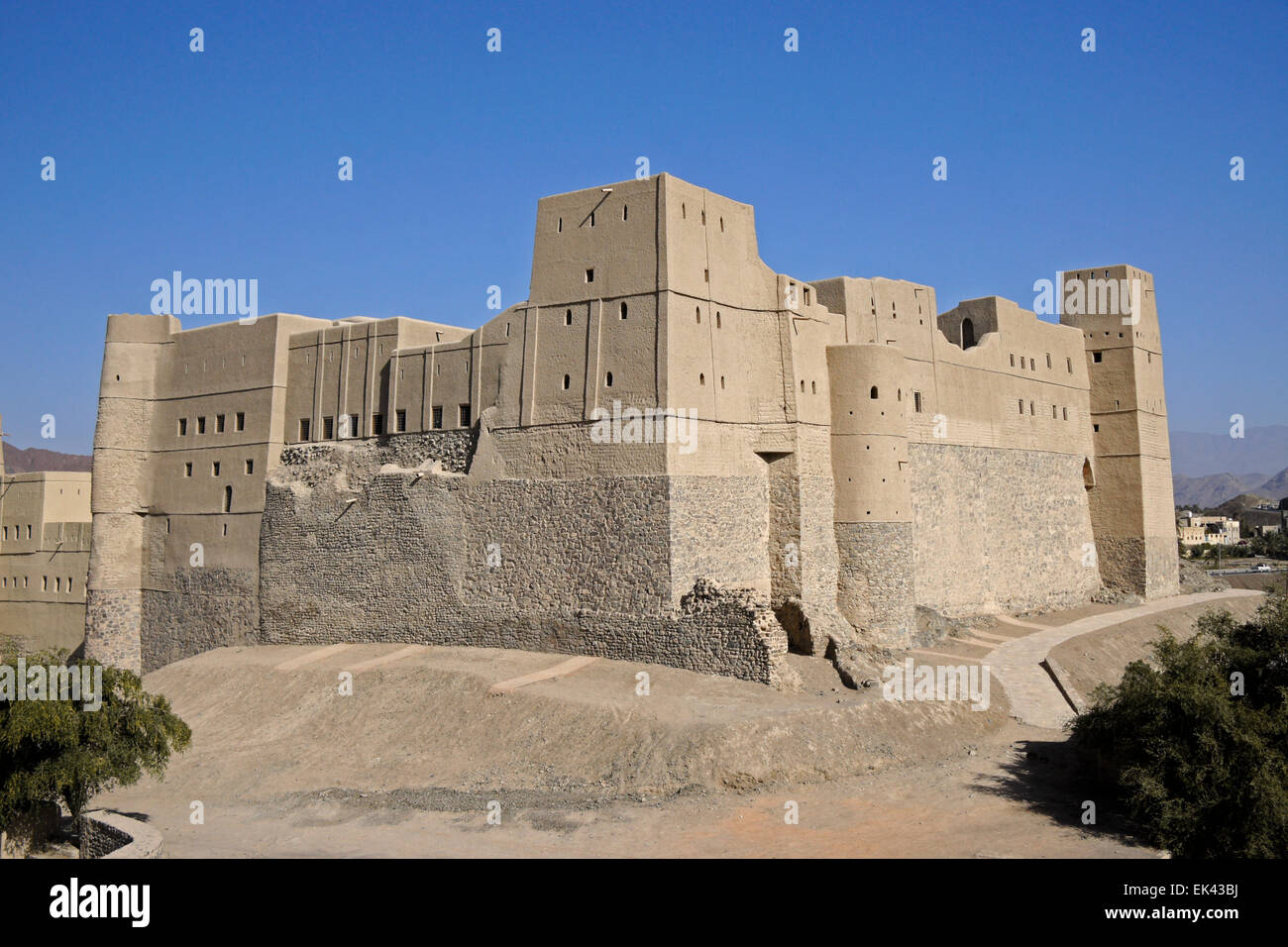 Bahla (Bahala) Fort, Sultanate of Oman - Stock Image