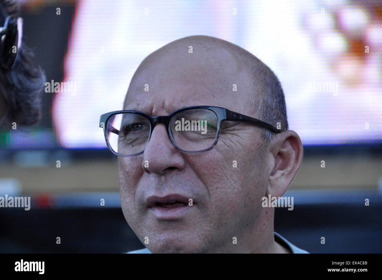 trevor Manuel at an interfaith service held at the Grand Parade Cape Town to honour Nelson Mandela after he died. - Stock Image