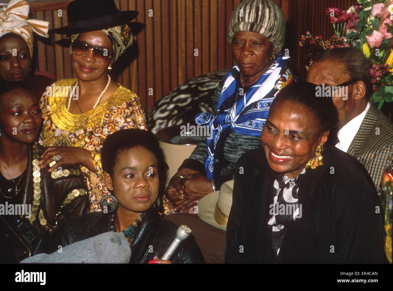 miriam makeba,the first lady of song famous South African