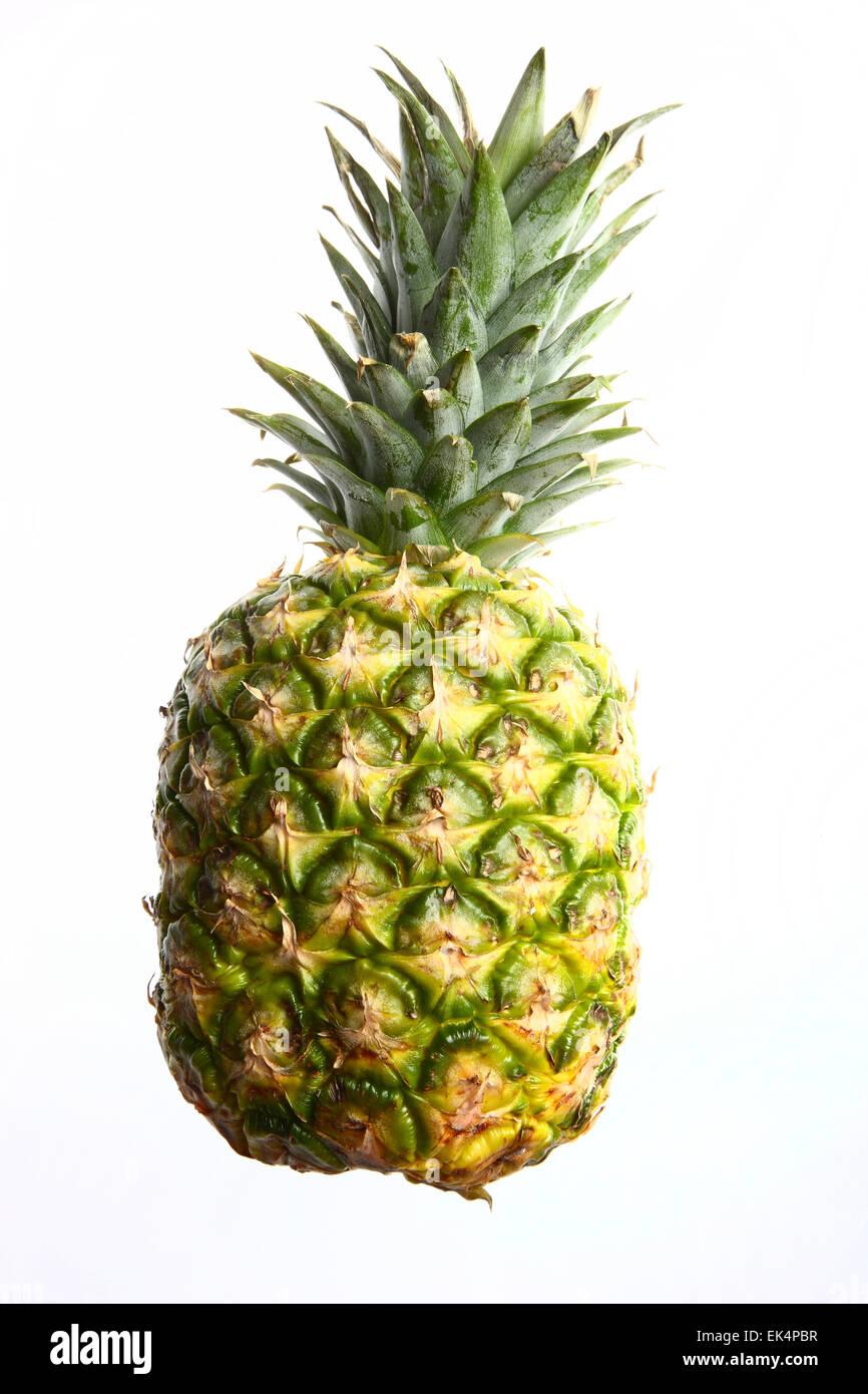 Tropical fruit, pineapple, - Stock Image