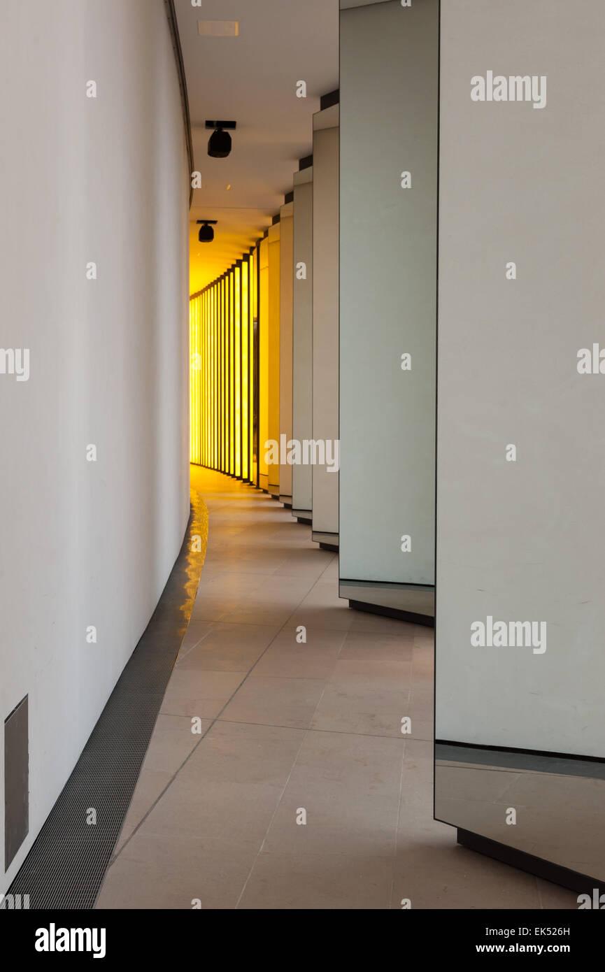 France, Paris, Inside the horizon, Olafur Eliasson's installation for the Fondation Louis Vuitton Stock Photo