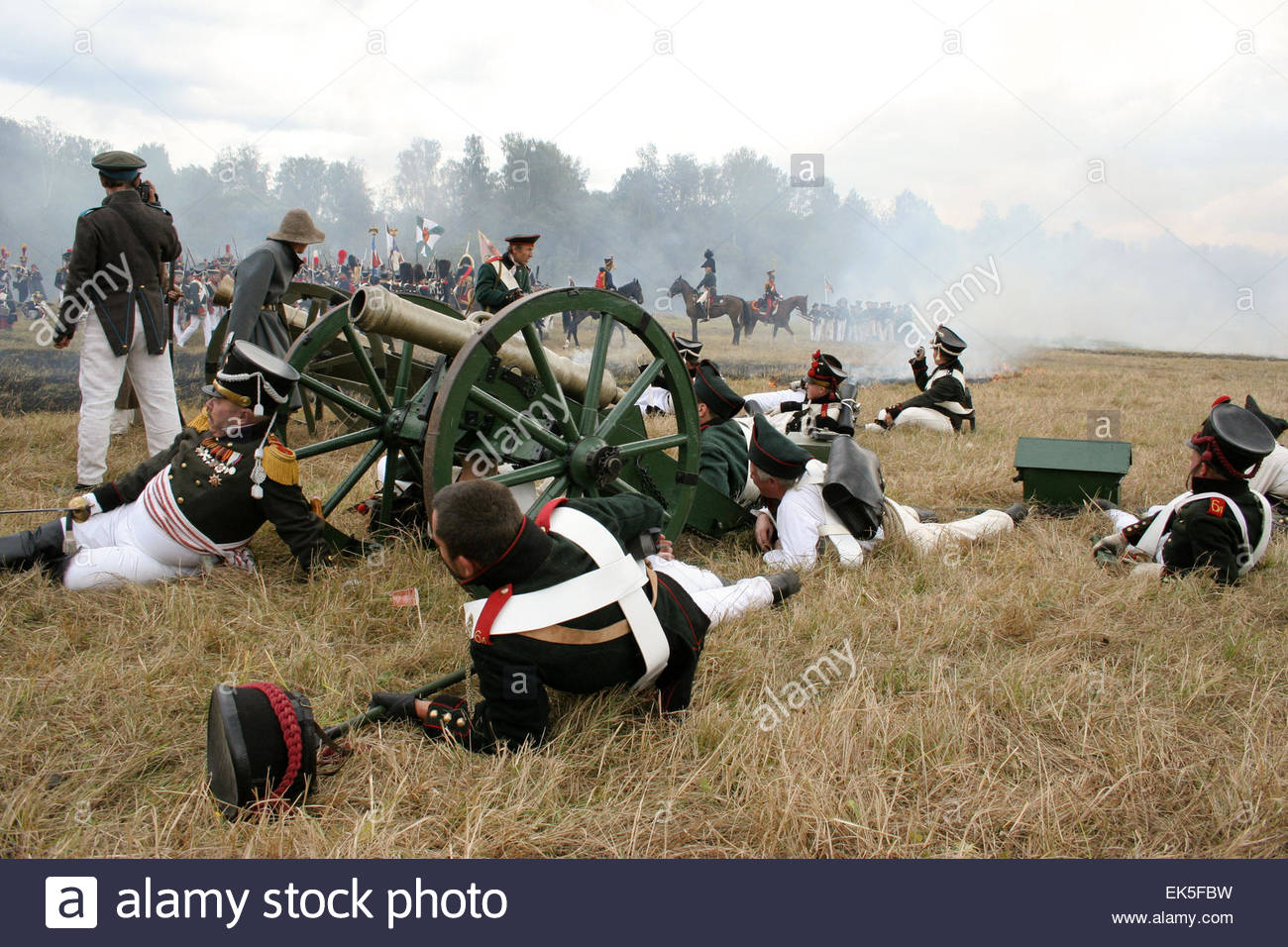 Reconstruction of The Battle of Borodino, Every year the anniversary