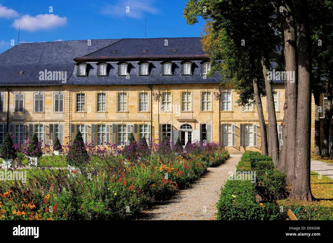Bayreuth Neues Schloss - Bayreuth New Palace 02 Stock Photo