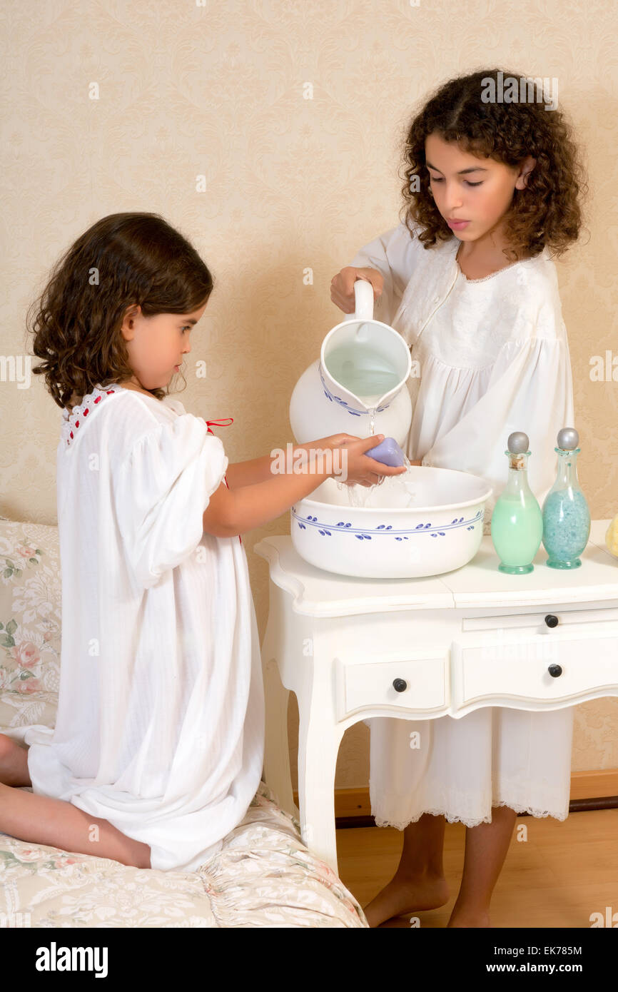 Girls In Nightgowns Stock Photos & Girls In Nightgowns Stock Images ...
