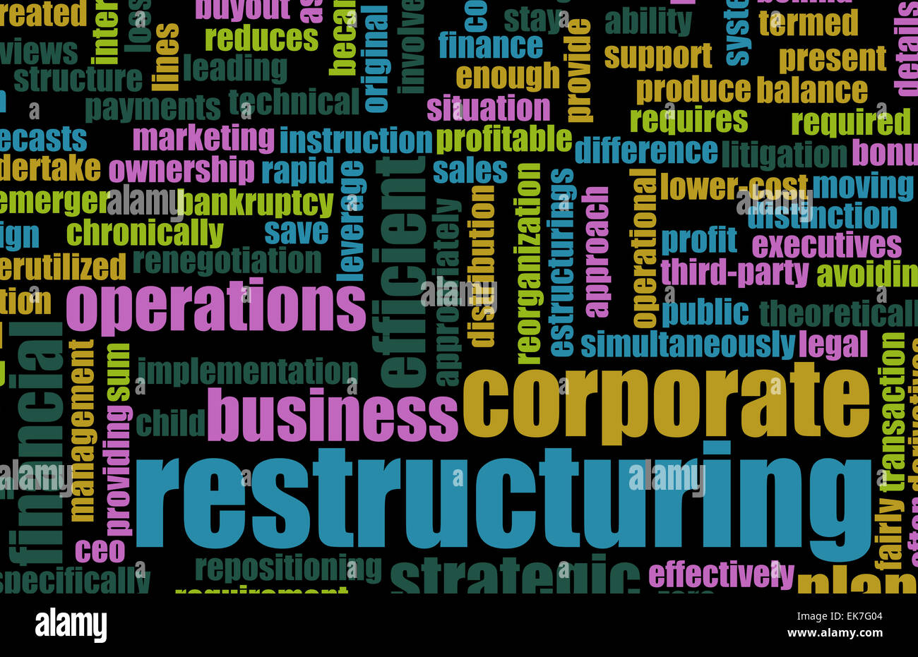 Restructuring - Stock Image