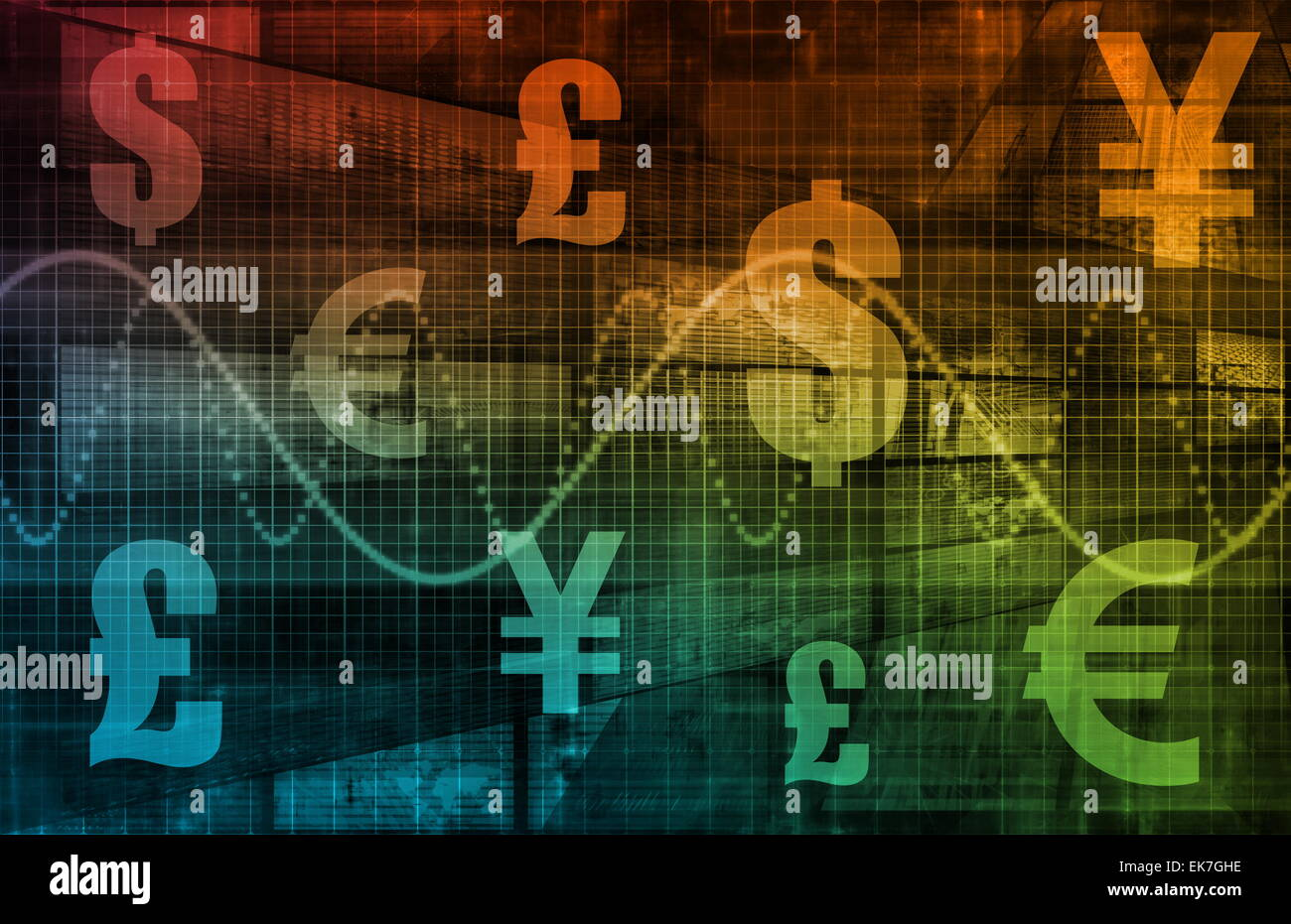 World Currencies - Stock Image