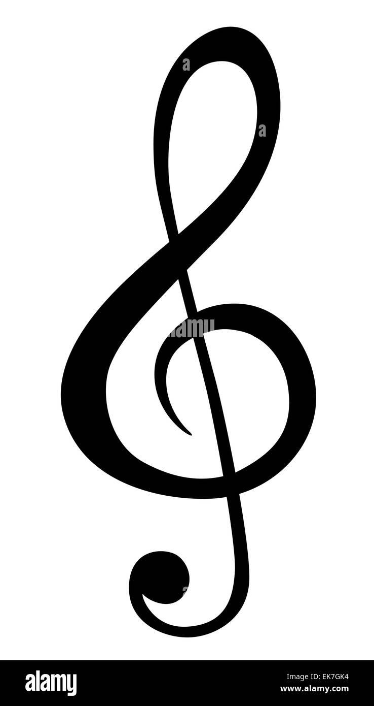 Music Note Symbols Stock Photo 80686680 Alamy