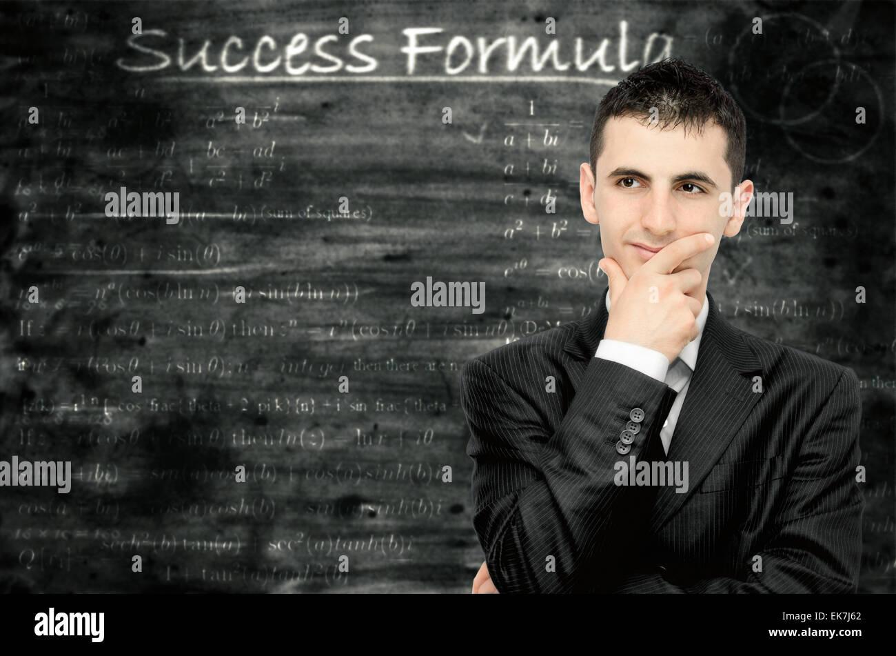 Success formula - Stock Image
