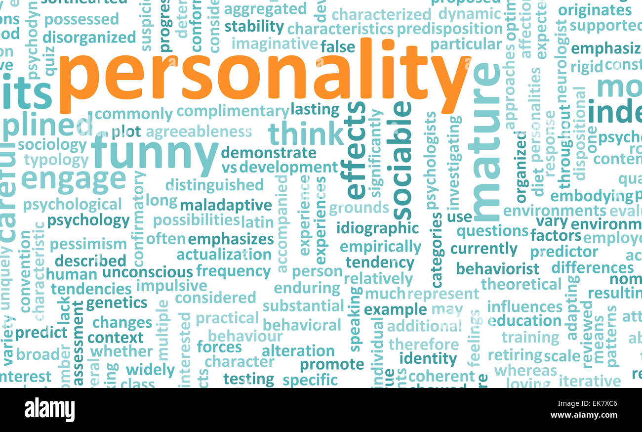 Personality - Stock Image