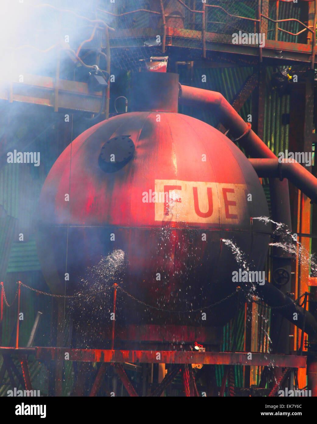 fuel tank - Stock Image