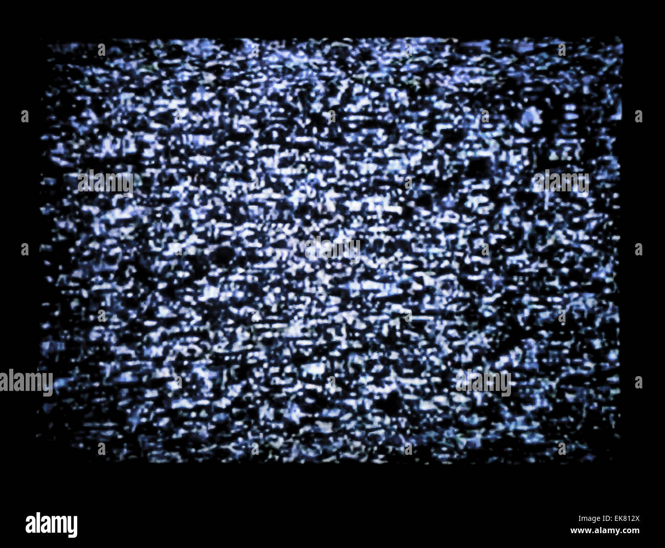 tv static - Stock Image
