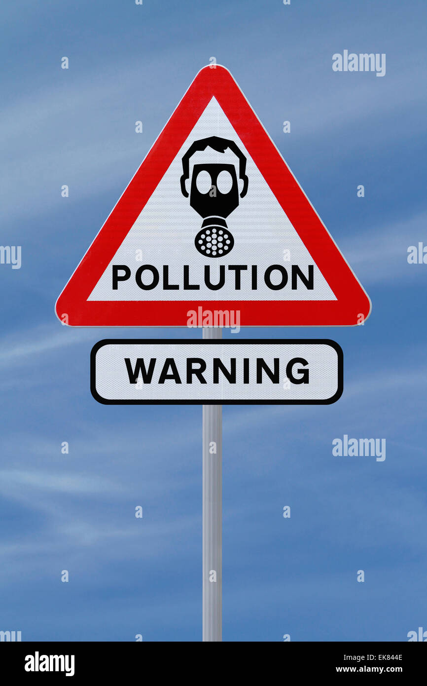 Pollution Warning Sign Stock Photos Amp Pollution Warning