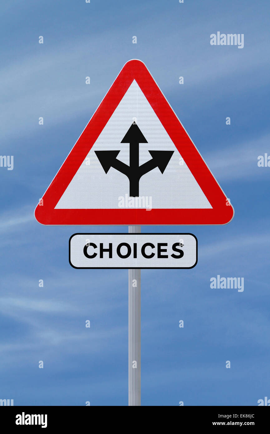 Choices - Stock Image