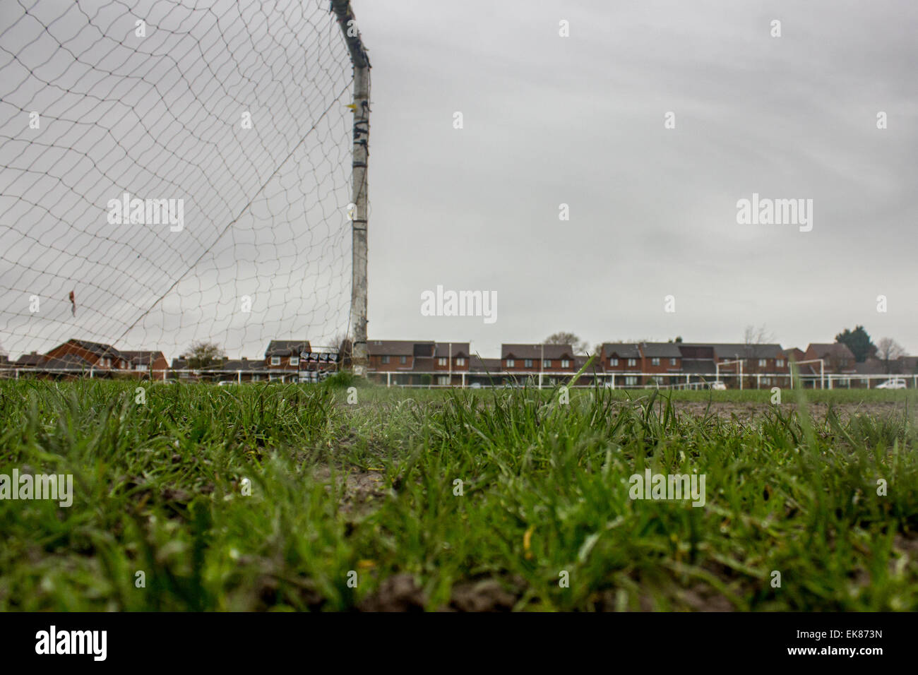 Grass Roots Football, Urban Landscape - Stock Image