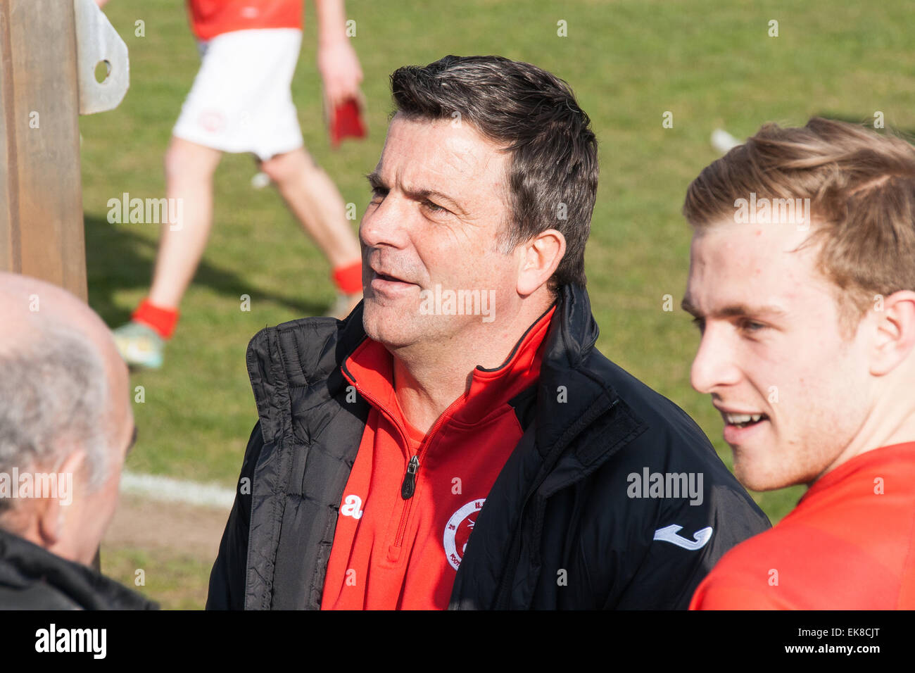 Kevin Wilson, a former professional footballer, manager of Ilkeston Football Club - Stock Image