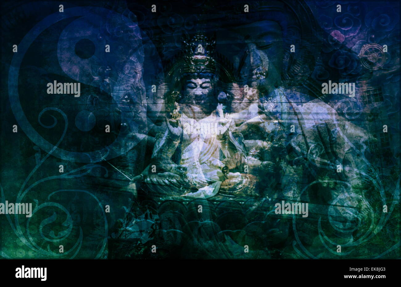 Secret Society Gang Religion Stock Photo