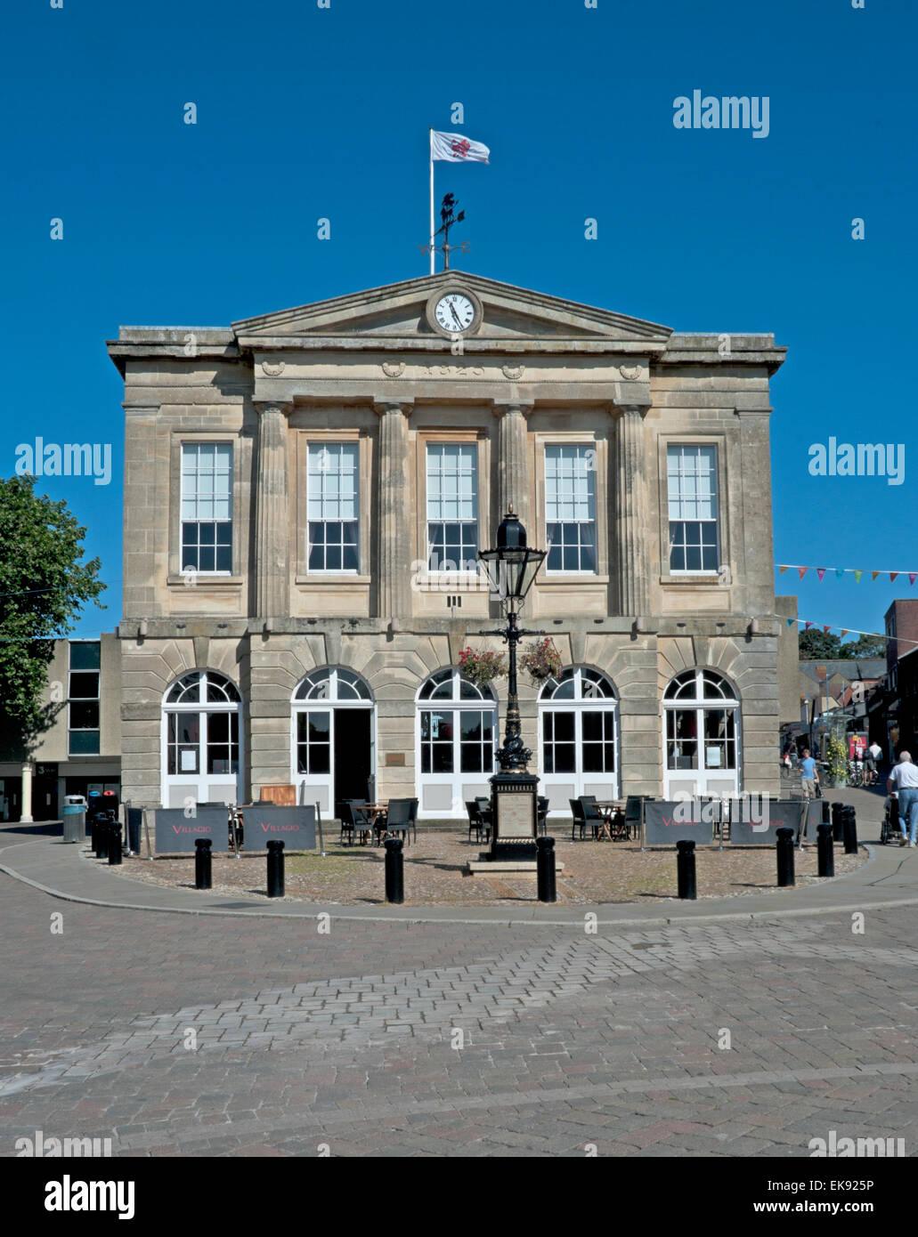 Andover, Guildhall, Hampshire, England, - Stock Image