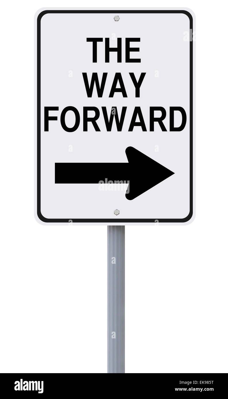 The Way Forward - Stock Image