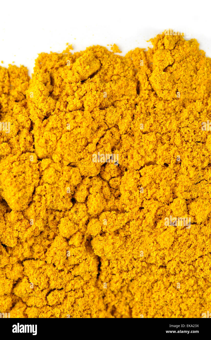 Curry Powder - Stock Image
