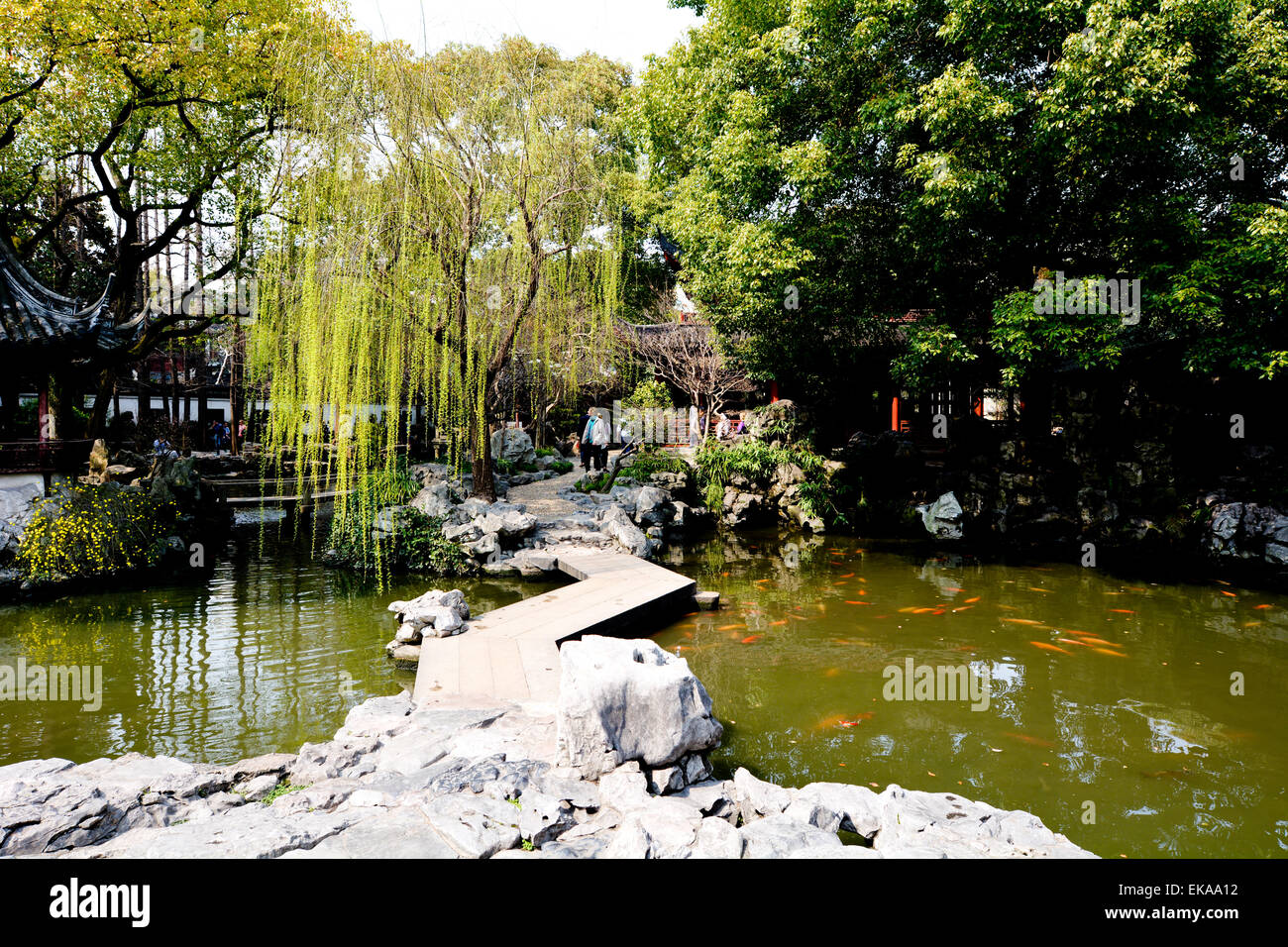 Yu Garden Occupies An Area Of 2 Hectares 5 Acres And Is Divided Into Six General Areas Laid Out In The Suzhou Style