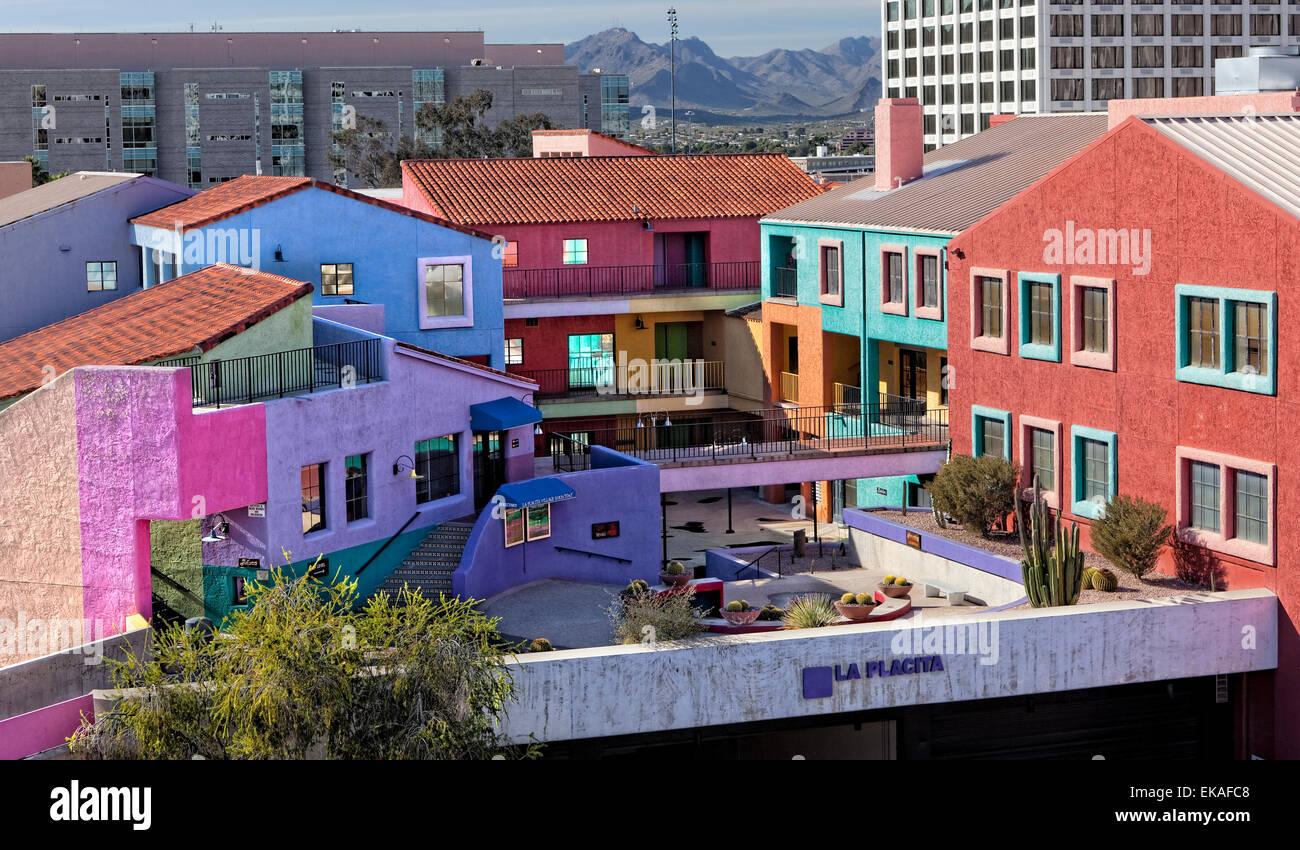 La Placita Village, Shopping Center, Tucson, AZ - Stock Image