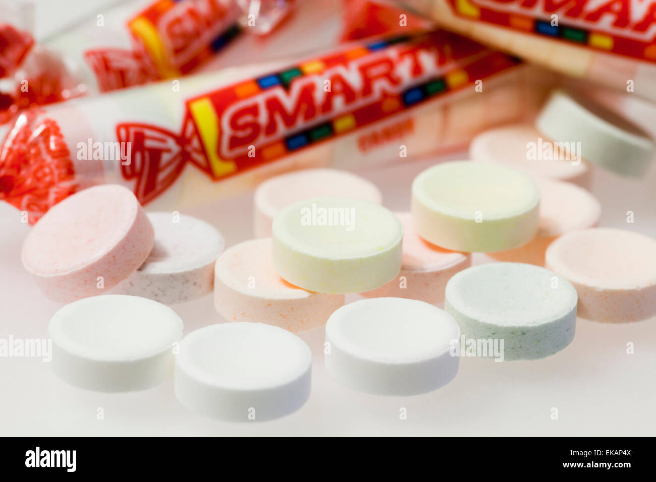 Smarties Candy Stock Photos & Smarties Candy Stock Images
