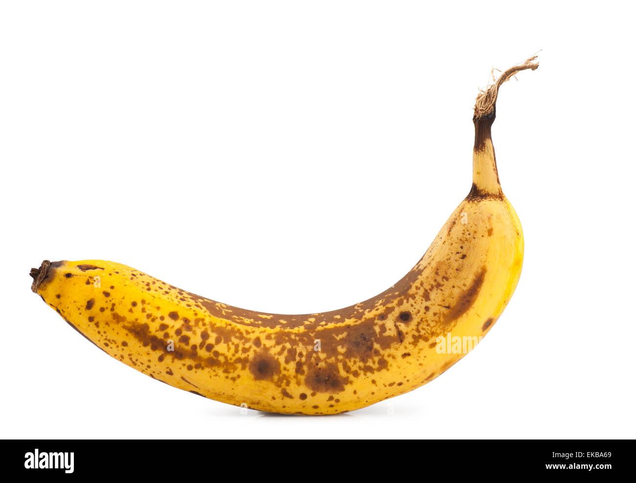 Overripe banana - Stock Image