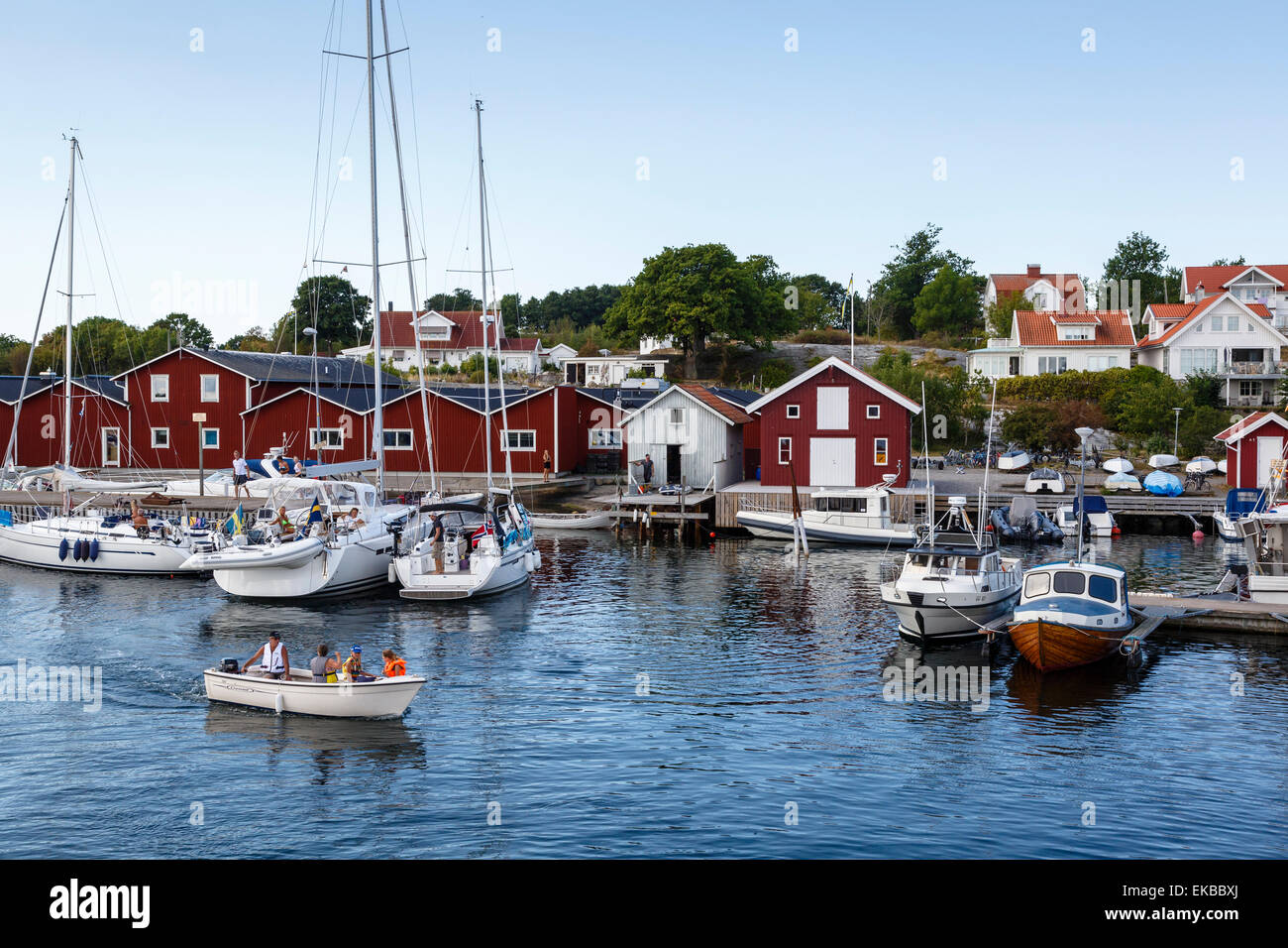 Koster Islands, Vastra Gotaland region, Sweden, Scandinavia, Europe - Stock Image