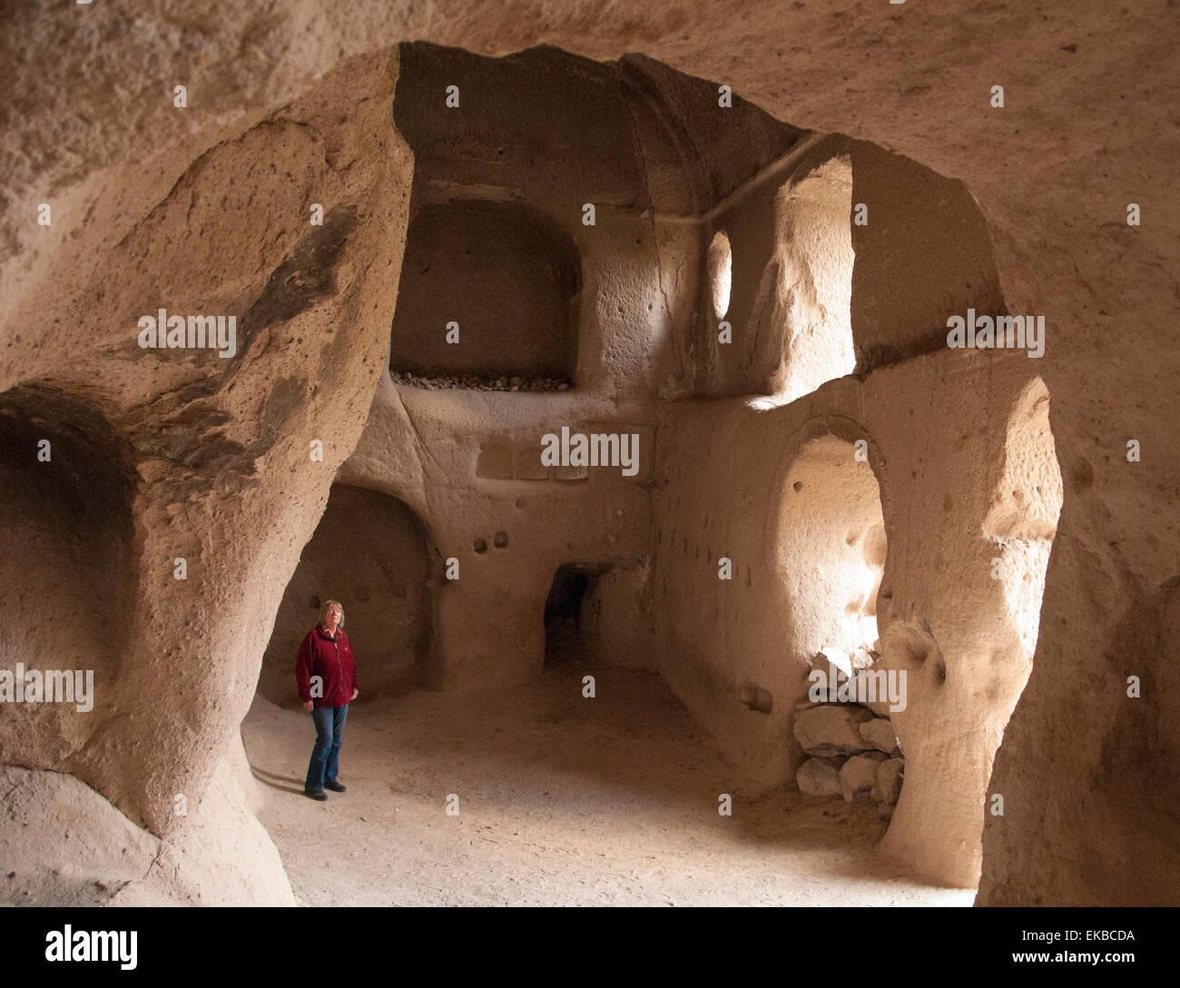 Direkli Church, AD1000, Belisirma, Ihlara, western Cappadocia, Anatolia, Turkey, Asia Minor, Eurasia - Stock Image
