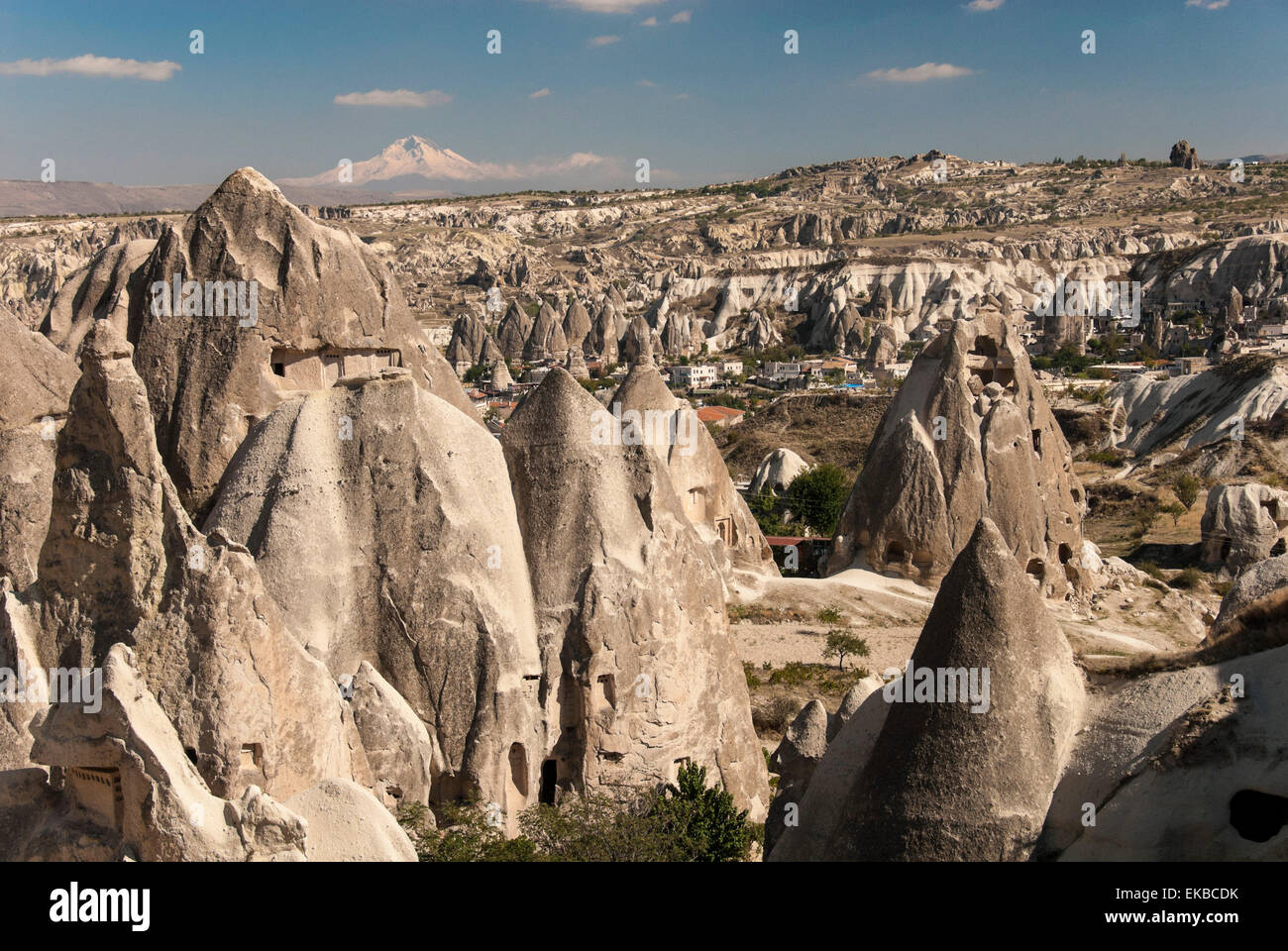 Goreme, UNESCO World Heritage Site, Cappadocia, Anatolia, Turkey, Asia Minor, Eurasia - Stock Image