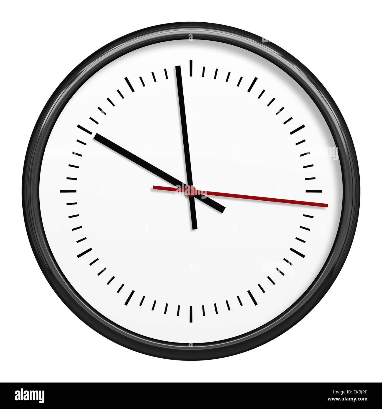 black clock - Stock Image