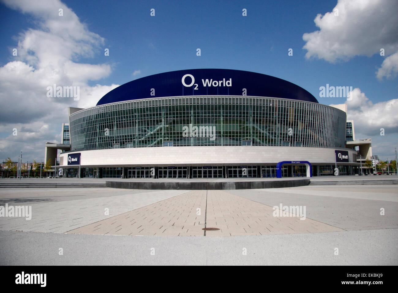 o2-Arena, Berlin-Friedrichshain Stock Photo