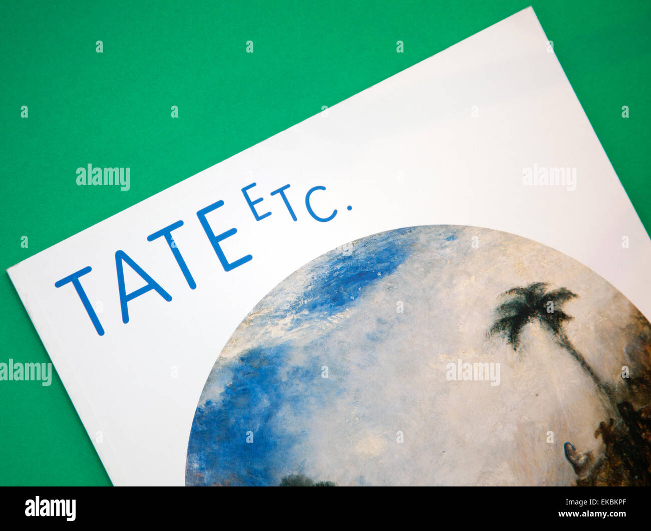 Tate Galleries 'Tate etc' magazine, London - Stock Image