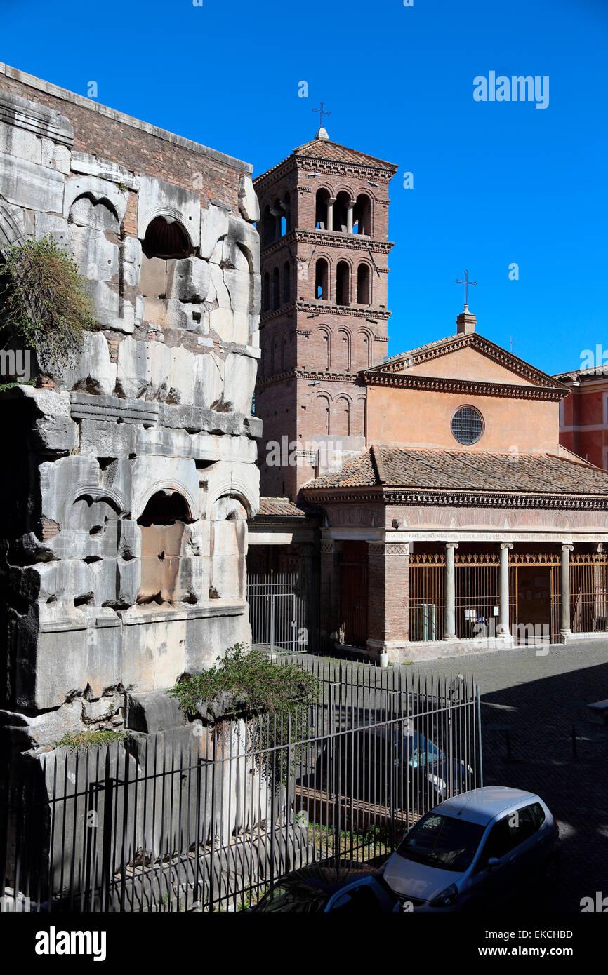 Italy rome arch janus stock photos italy rome arch janus for Arco arredamenti san giorgio