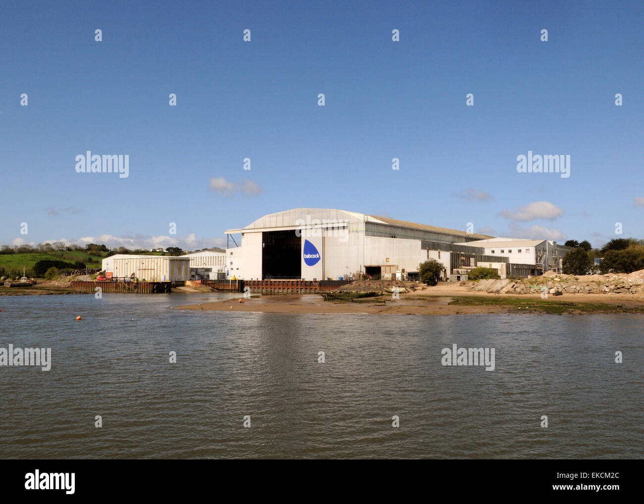 Appledore Shipyards Stock Photo