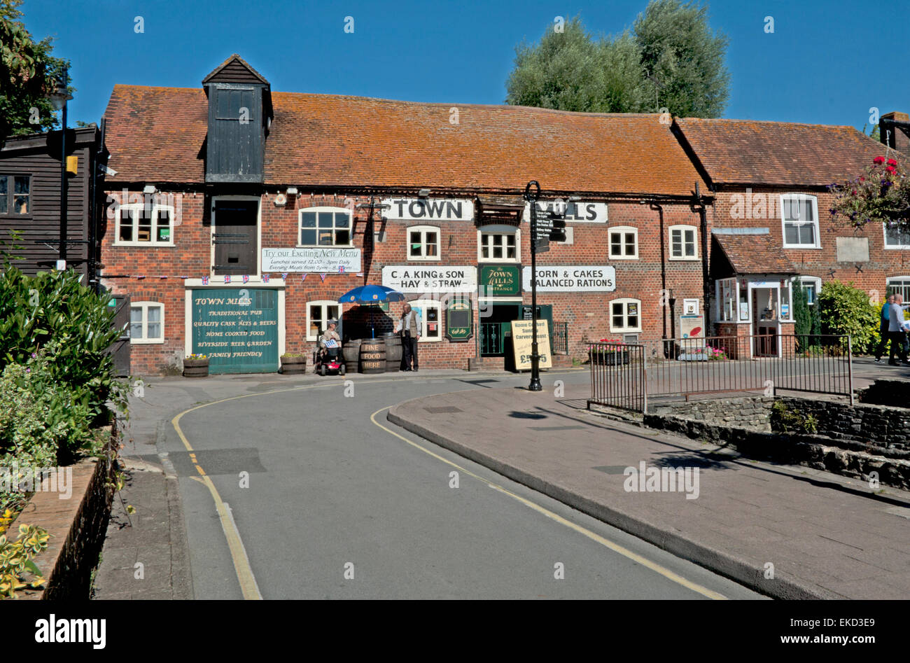 Town Mills Andover Hampshire - Stock Image