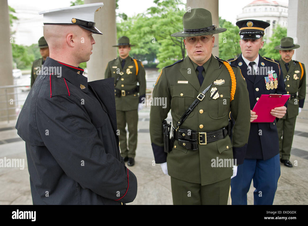 Ranks In Marine >> 051212: Washington D.C. - A member of the United States Border Patrol Stock Photo: 80818246 - Alamy