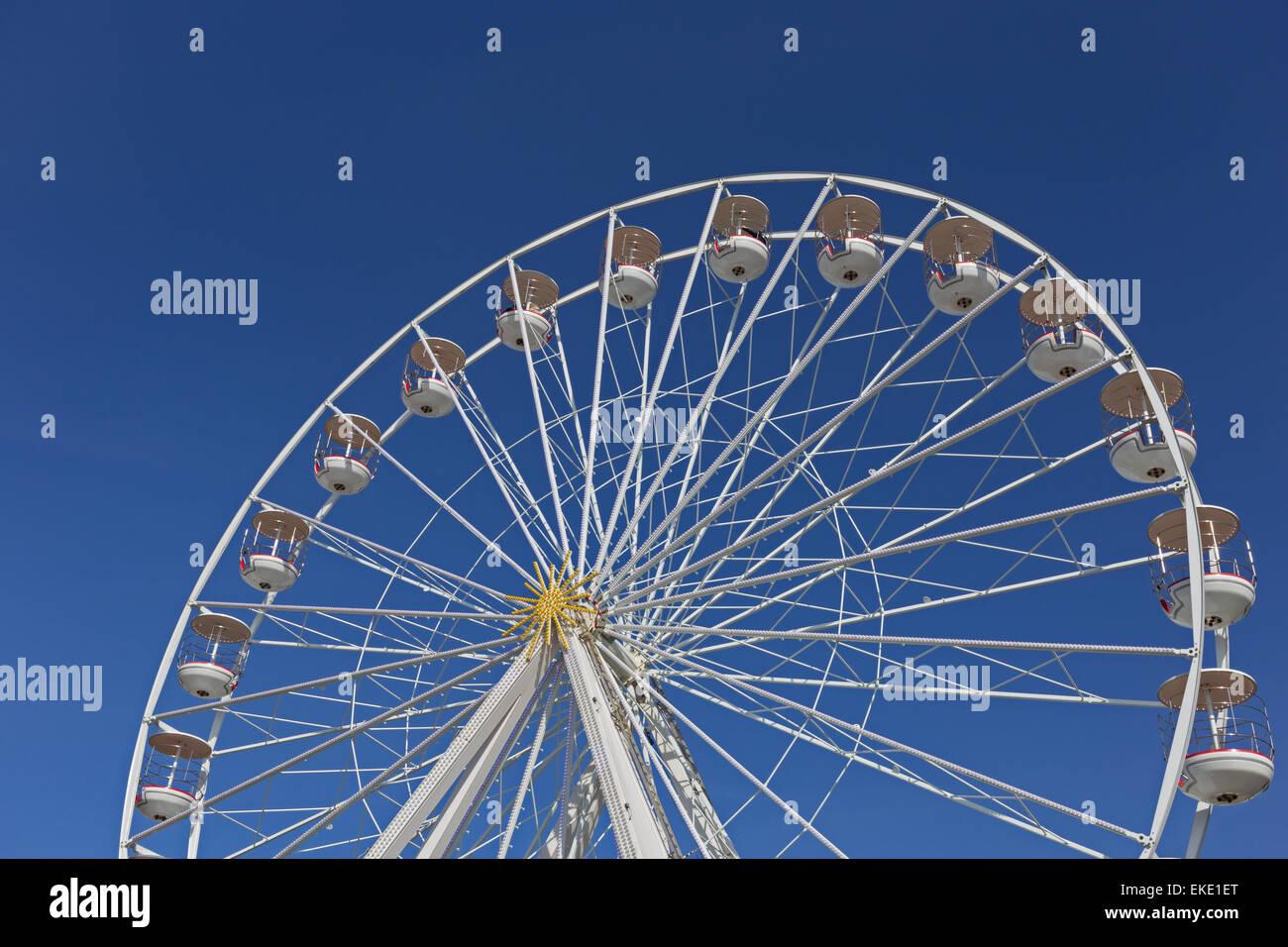 The Weston Wheel, Weston-super-Mare, Somerset, England - Stock Image